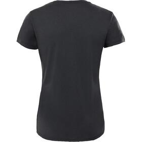 The North Face Reaxion Amp T-shirt à col ras-du-cou Femme, tnf black heather